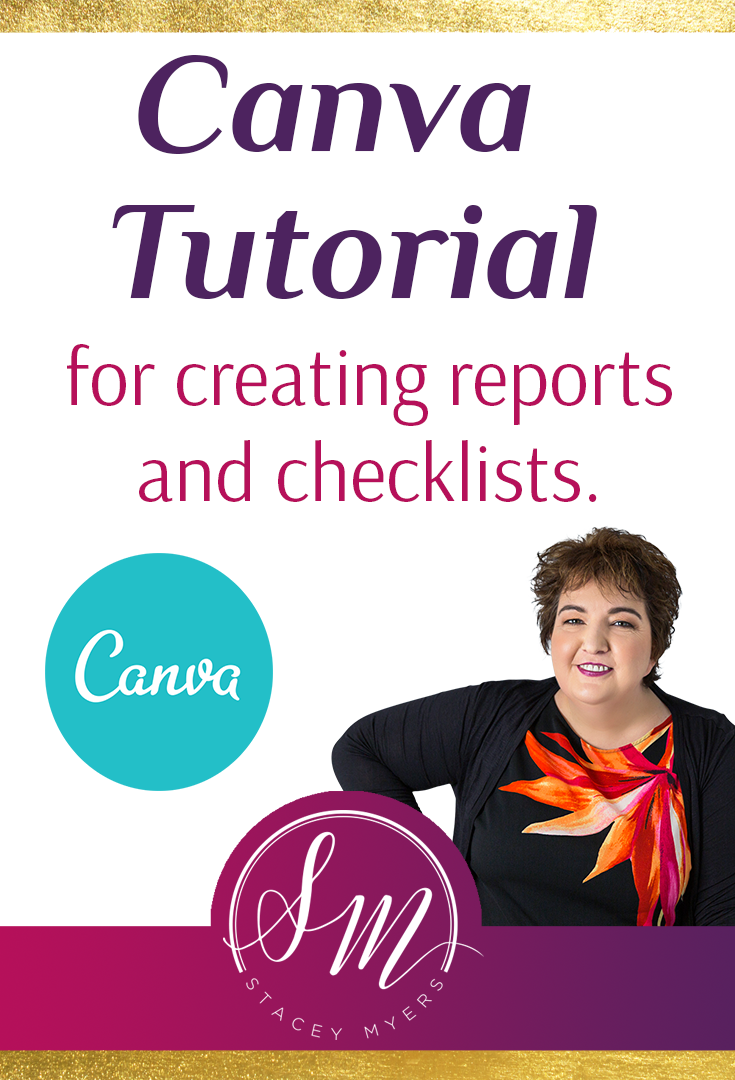 Canva Tutorial: How to Use Canva for Reports and Checklists  In this Canva tutorial I teach you how to use Canva to create reports and checklists.