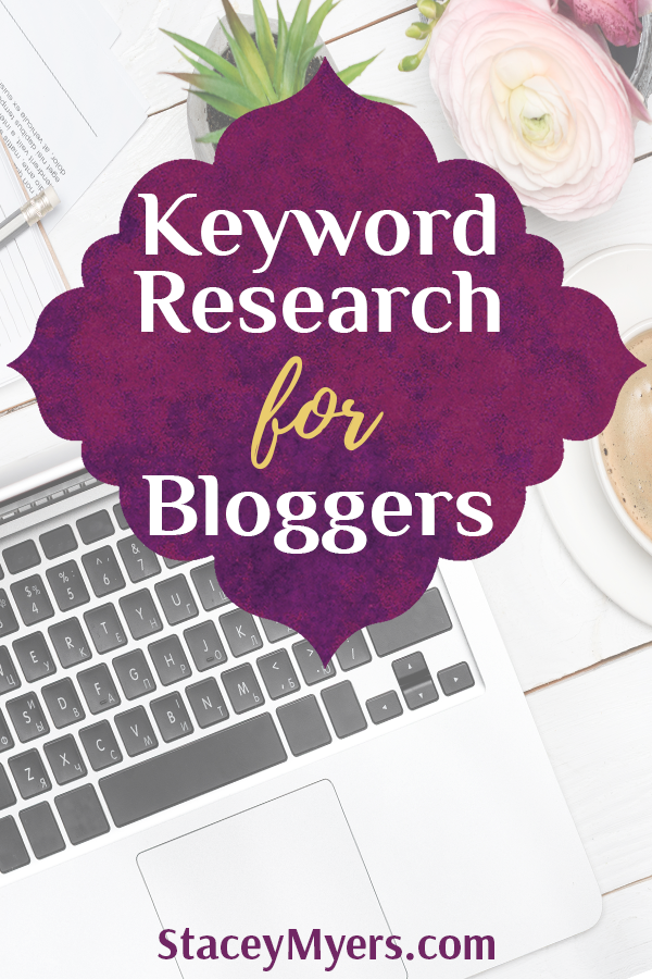 In the 'Keyword Research for Bloggers'video I take you through some basic keyword research, but there is something we need to talk about first.